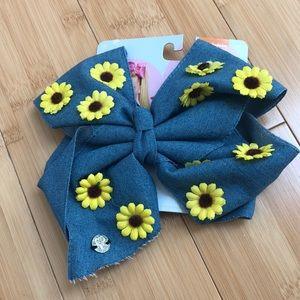 Jojo Sunflower Bow
